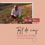 Tast de vins Mas Patiràs amb Carles Xuriguera