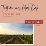 Tast de vins Mas Geli