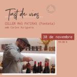 Tast de vins amb Carles Xuriguera