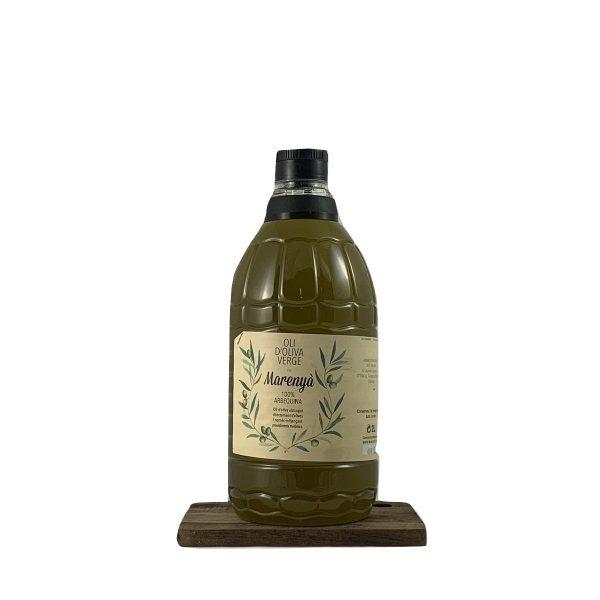 Oli oliva verge arbequina Marenya 2l